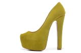 CL Light yellow USES thick with 16 cm shoes AAA