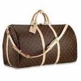 Monogram Canvas Keepall 60 with Shoulder Strap -XJ