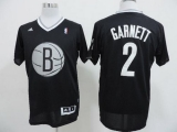 Brooklyn Nets #2 Kevin Garnett Black 2013 Christmas Day Swingman Stitched NBA Jersey