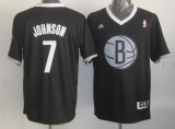 Brooklyn Nets #7 Joe Johnson Black 2013 Christmas Day Swingman Stitched NBA Jersey