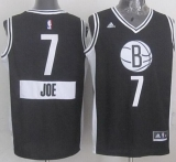 Brooklyn Nets #7 Joe Johnson Black 2014-15 Christmas Day Stitched NBA Jersey