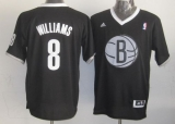 Brooklyn Nets #8 Deron Williams Black 2013 Christmas Day Swingman Stitched NBA Jersey