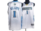 Denver Nuggets #1 Chauncey Billups Stitched White NBA Jersey