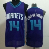 Revolution 30 Charlotte Hornets #14 Michael Kidd-Gilchrist Purple Stitched NBA Jersey