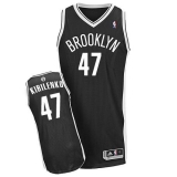 Revolution 30 Brooklyn Nets #47 Andrei Kirilenko Black Road Stitched NBA Jersey