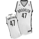 Revolution 30 Brooklyn Nets #47 Andrei Kirilenko White Home Stitched NBA Jersey