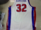 Detroit Pistons #32 Richard Hamilton Stitched White NBA Jersey