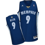 Memphis Grizzlies #9 Tony Allen Revolution 30 Dark Blue Stitched NBA Jersey