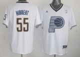 Indiana Pacers #55 Roy Hibbert White 2013 Christmas Day Swingman Stitched NBA Jersey