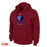 NBA Memphis Grizzlies Pullover Hoodie Red