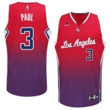 Los Angeles Clippers #3 Chris Paul Red Resonate Fashion Swingman Stitched NBA Jersey