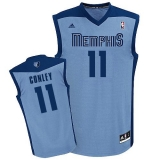 Revolution 30 Memphis Grizzlies #11 Mike Conley Light Blue Stitched NBA Jersey