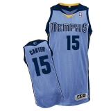 Revolution 30 Memphis Grizzlies #15 Vince Carter Light Blue Stitched NBA Jersey