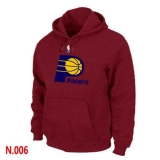 NBA Indiana Pacers Pullover Hoodie Red