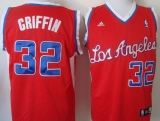 Los Angeles Clippers #32 Blake Griffin 2011 New Style Red Revolution 30 Stitched NBA Jersey