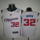 Los Angeles Clippers #32 Blake Griffin 2011 New Style White Revolution 30 Stitched NBA Jersey