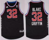 Los Angeles Clippers #32 Blake Griffin Black 2015 All Star Stitched NBA Jersey