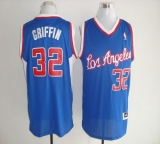Los Angeles Clippers #32 Blake Griffin Blue Revolution 30 Stitched NBA Jersey