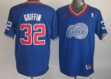 Los Angeles Clippers #32 Blake Griffin Light Blue 2013 Christmas Day Swingman Stitched NBA Jersey