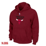 NBA Chicago Bulls Pullover Hoodie Red