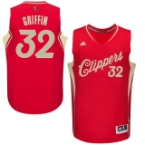Los Angeles Clippers #32 Blake Griffin Red 2015-2016 Christmas Day Stitched NBA Jersey