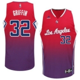 Los Angeles Clippers #32 Blake Griffin Red Resonate Fashion Swingman Stitched NBA Jersey