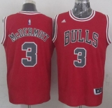 Revolution 30 Chicago Bulls #3 Doug McDermott Red Stitched NBA Jersey