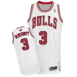 Revolution 30 Chicago Bulls #3 Doug McDermott White Stitched NBA Jersey