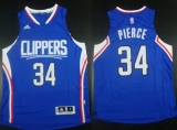 Los Angeles Clippers #34 Paul Pierce Blue Stitched NBA Jersey