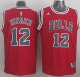 Revolution 30 Chicago Bulls #12 Kirk Hinrich Red Stitched NBA Jersey