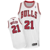 Revolution 30 Chicago Bulls #21 Jimmy Butler White Stitched NBA Jersey