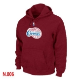 NBA Los Angeles Clippers Pullover Hoodie Red