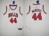 Revolution 30 Chicago Bulls #44 Nikola Mirotic White Stitched NBA Jersey