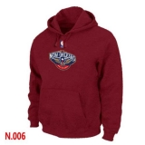 NBA New Orleans Pelican Pullover Hoodie Red