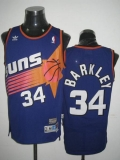 Mitchell & Ness Phoenix Suns #34 Charles Barkley Stitched Blue Throwback NBA Jersey