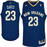 Revolution 30 New Orleans Pelicans #23 Anthony Davis Navy Stitched NBA Jersey