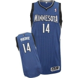 Revolution 30 Minnesota Timberwolves #14 Nikola Pekovic Blue Stitched NBA Jersey