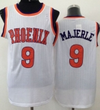 Phoenix Suns #9 Dan Majerle White New Throwback Stitched NBA Jersey