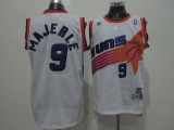 Phoenix Suns #9 Dan Majerle White Swingman Throwback Stitched NBA Jersey