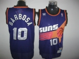 Phoenix Suns #10 BLeandro Barbosa Throwback Purple Stitched NBA Jersey