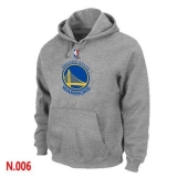 NBA Golden State Warriors Pullover Hoodie Light Grey