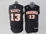 Phoenix Suns #13 Steve Nash Stitched Black Nashty Fashion NBA Jersey