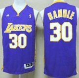 Revolution 30 Los Angeles Lakers #30 Julius Randle Purple Stitched NBA Jersey
