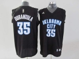 Oklahoma City Thunder #35 Kevin Durant Stitched Black Durantula Fashion NBA Jersey