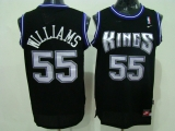 Sacramento Kings #55 Jason Williams Stitched Black NBA Jersey
