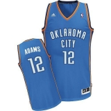 Revolution 30 Oklahoma City Thunder #12 Steven Adams Blue Stitched NBA Jersey
