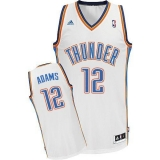 Revolution 30 Oklahoma City Thunder #12 Steven Adams White Stitched NBA Jersey