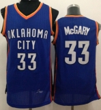 Revolution 30 Oklahoma City Thunder #33 Mitch McGary Blue Stitched NBA Jersey