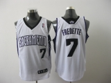 Sacramento Kings #7 Jimmer Fredette White Stitched Youth NBA Jersey