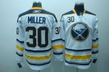 Buffalo Sabres #30 Ryan Miller Stitched White Third NHL Jersey